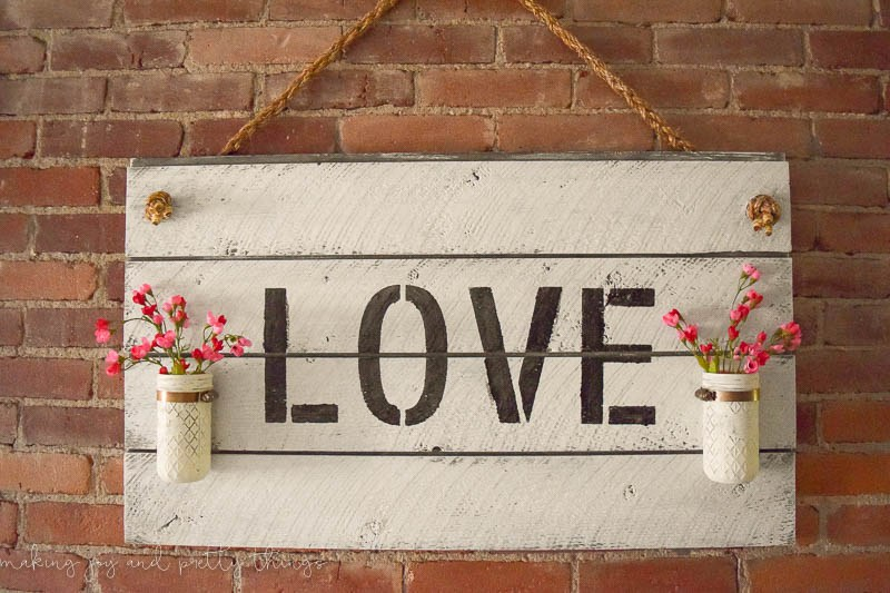 diy shiplap sign