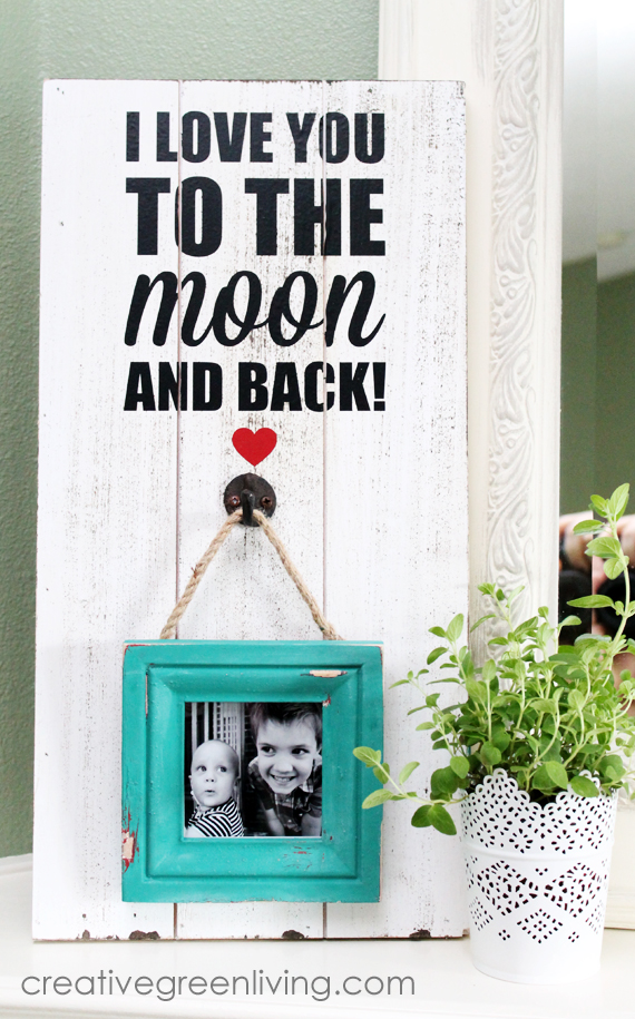 farmhouse style picture frame