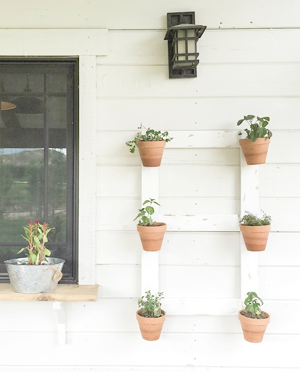 farmhouse style wall planter