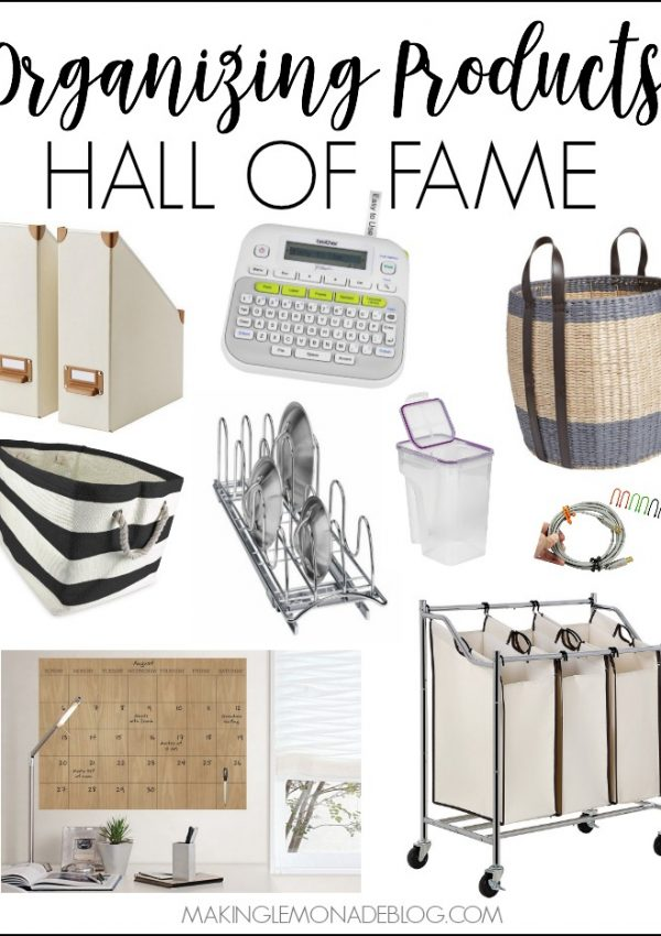 Organizing Products Hall of Fame