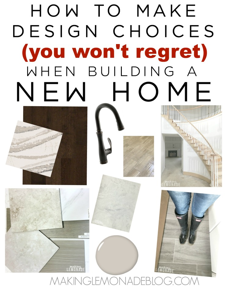 Making Design Choices You Won\'t Regret (& New Home Design Plan ...