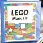 Hack: How to Organize LEGO Manuals the Easy Way