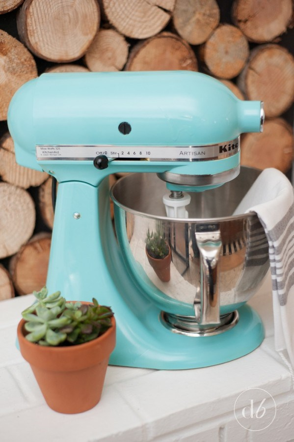kitchenaid mixer makeover