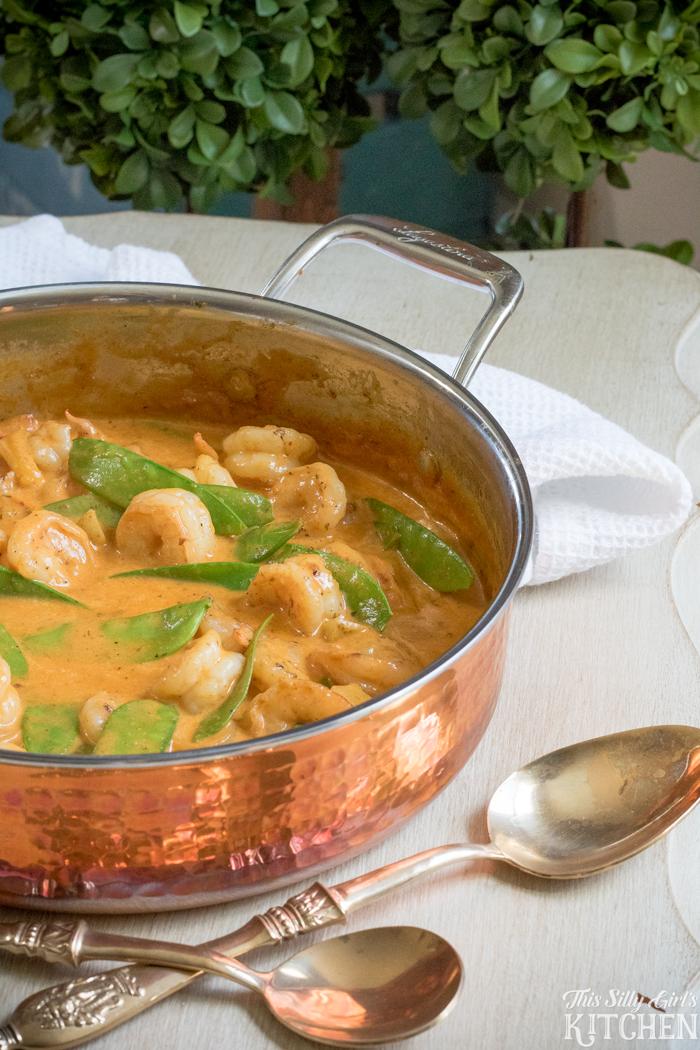 30 Minute shrimp curry