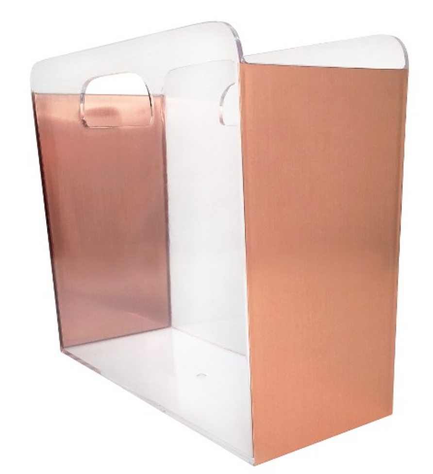 copper-file-holder-box-modern-office-supplies