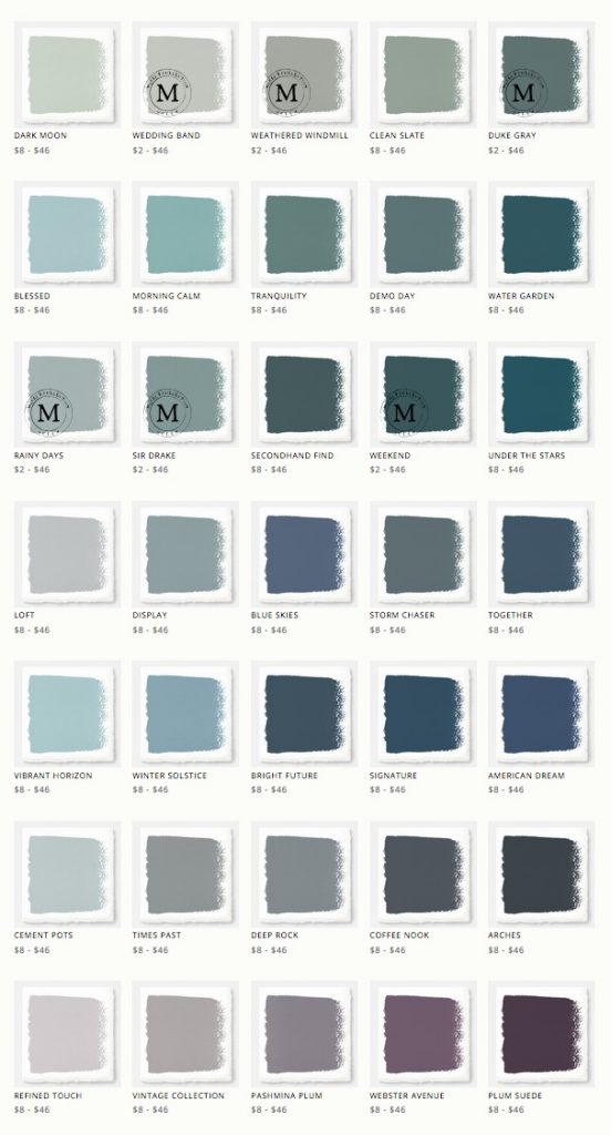 The paint colors of Joanna Gaine's Magnolia Home paint line are stunning! The same colors she uses on Fixer Upper!