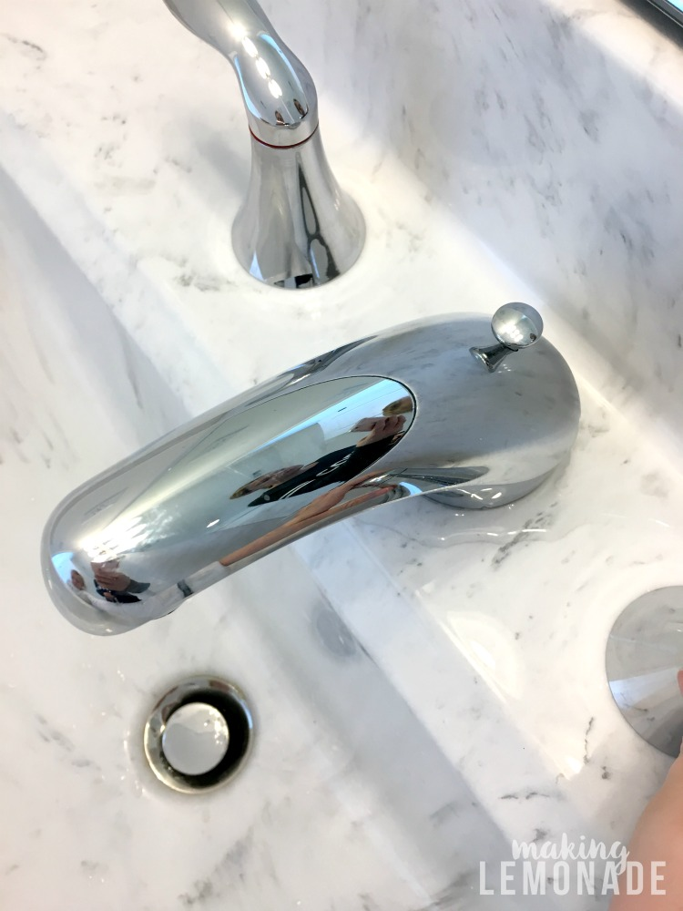 Leaking faucet needed addressing