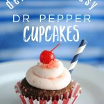 Dr Pepper Cupcake Recipe & Beach Party Ideas