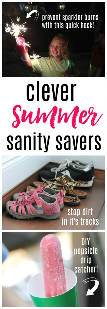 clever cleaning hacks to save your sanity this summer!