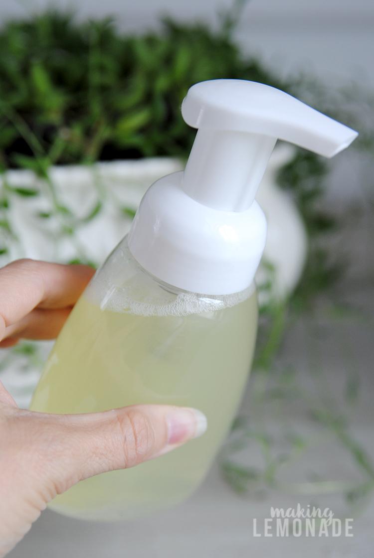 DIY Foaming Handsoap | Making Lemonade