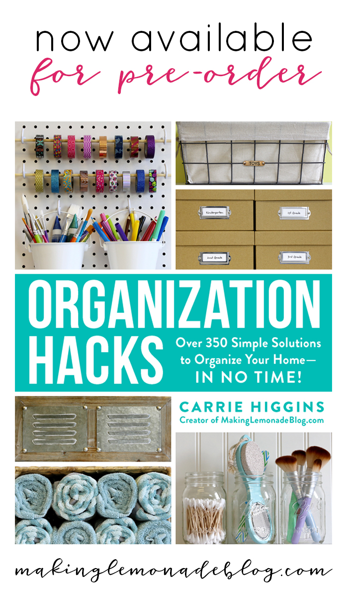 Organization Hacks now available