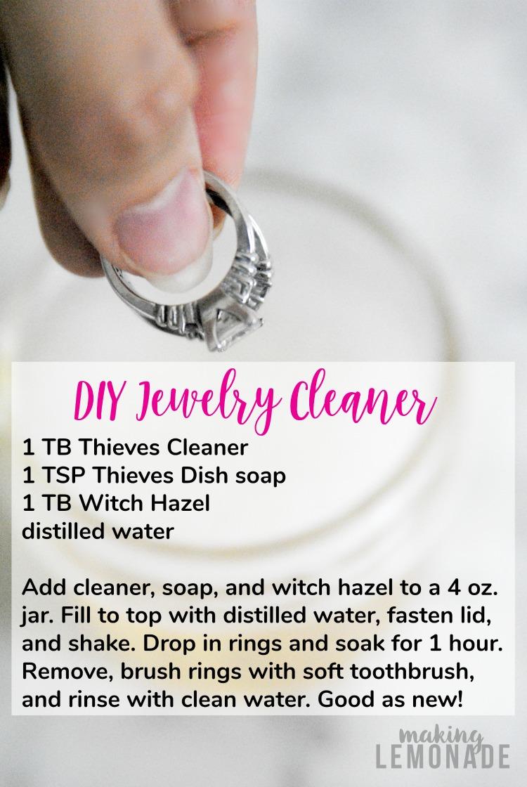 Diy Bling Wash Natural Jewelry Cleaner Making Lemonade