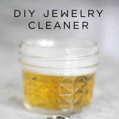 DIY Bling Wash (Natural Jewelry Cleaner)