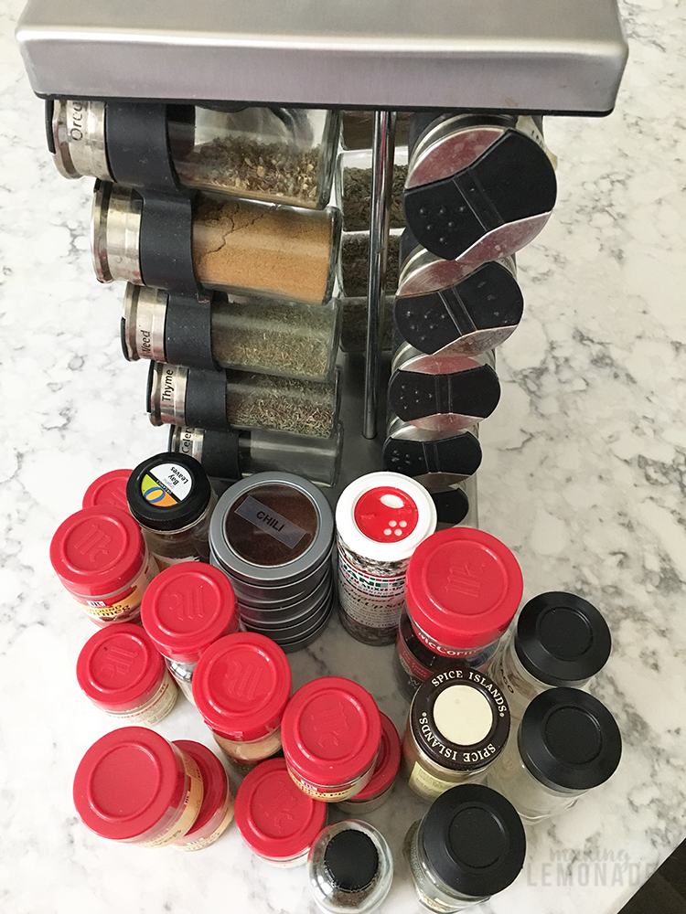 The spinning spice rack of yesteryear