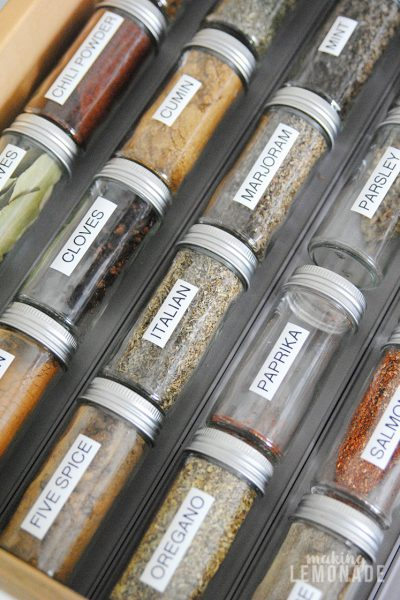 The Best Way to Organize Herbs & Spices
