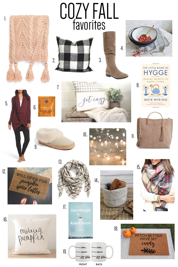 Enjoy the season with cozy fall favorites