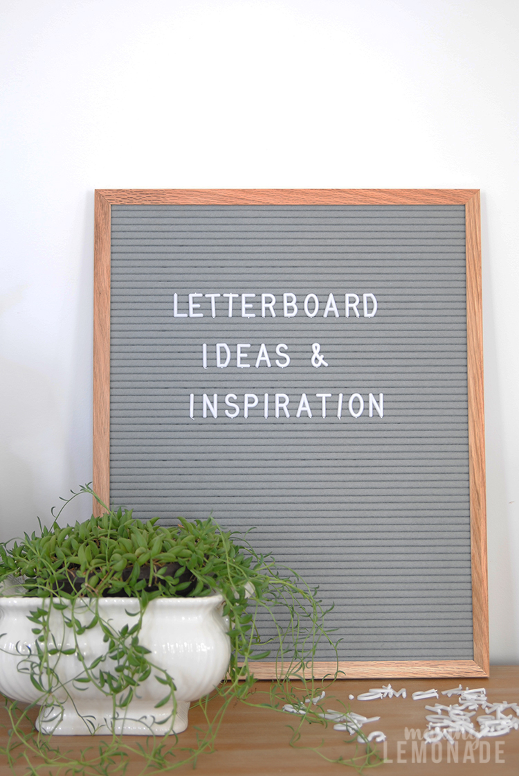 Clever Letterboard Inspiration And Ideas