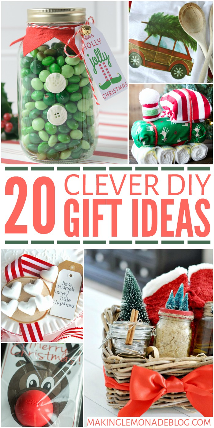 20 Clever DIY Gift Ideas
