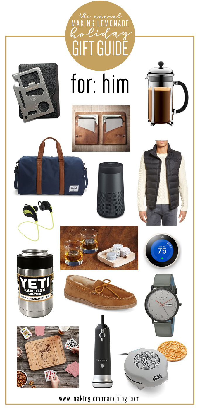 Find The Perfect Holiday Gift For Guys In Your Life With This Gifts Him