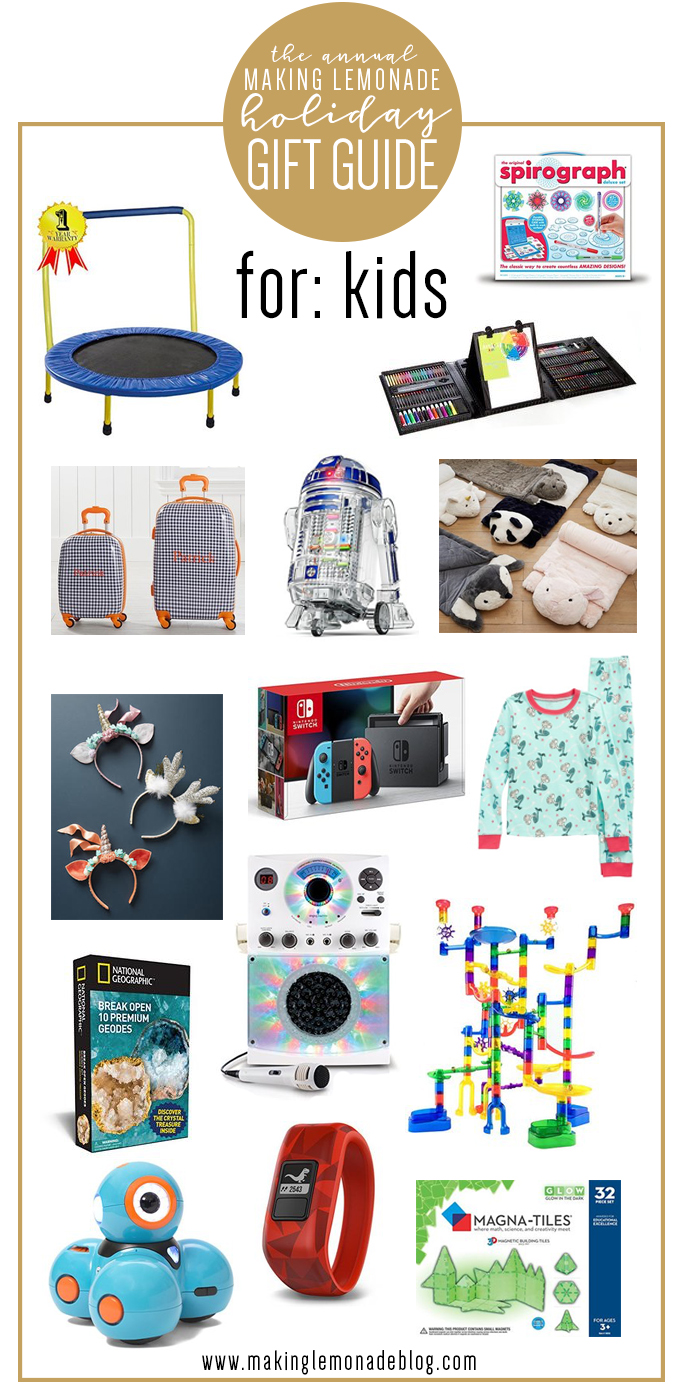 Christmas Gift Ideas For Kids Boys.Top Gifts For Kids Holiday Gift Guide Making Lemonade