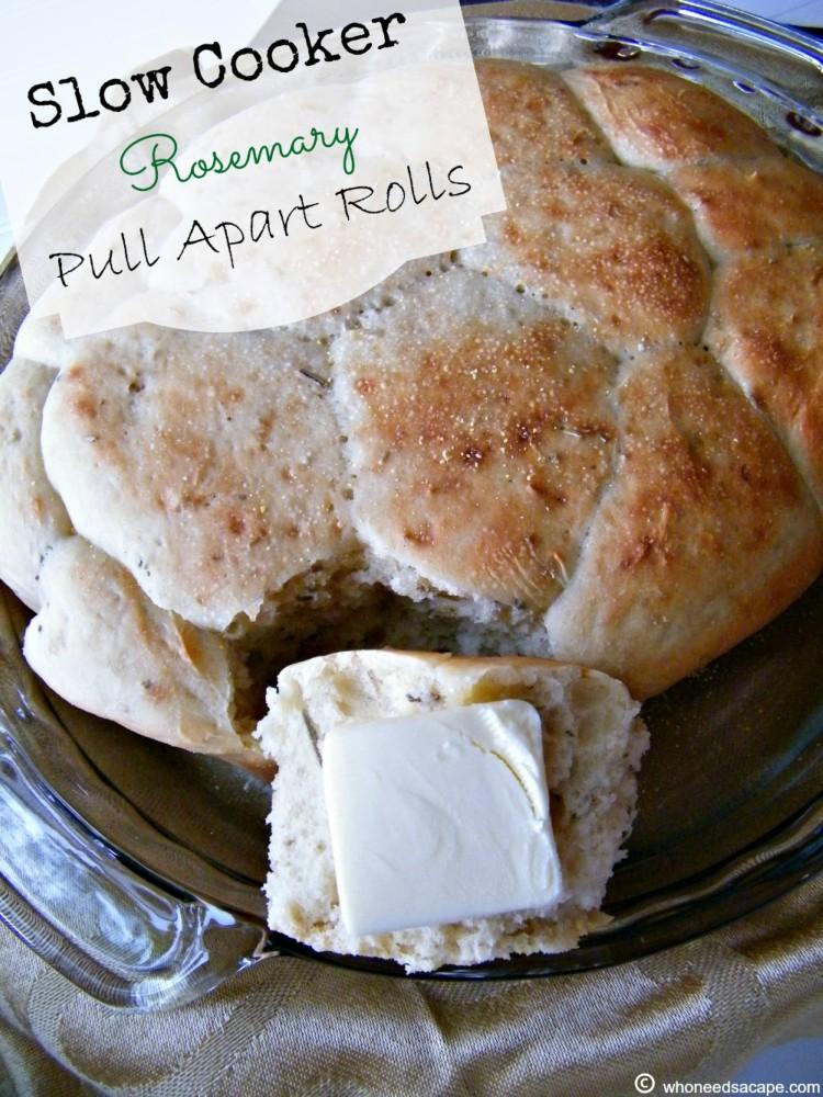 rosemary pull apart rolls