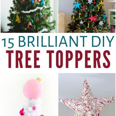 15 Brilliant DIY Tree Toppers