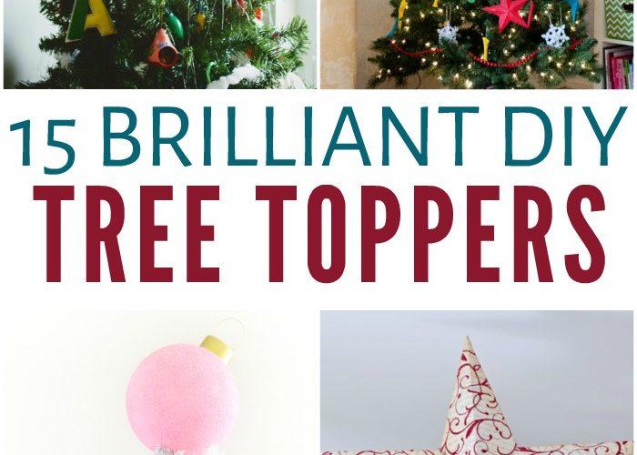 15 Brilliant Diy Tree Toppers Making Lemonade