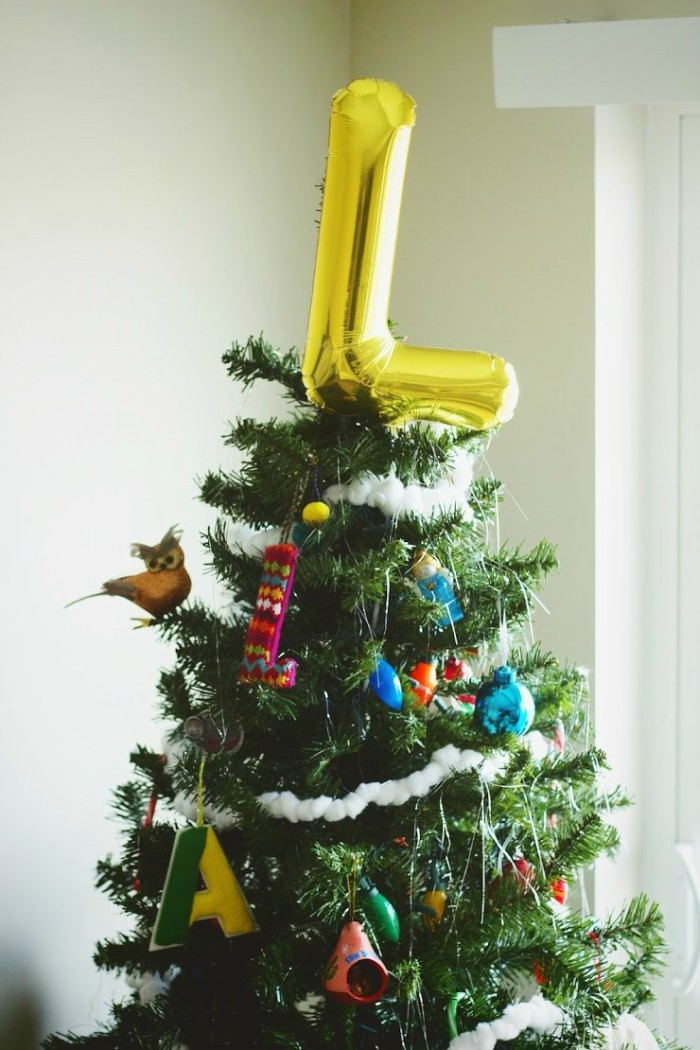 balloon tree topper