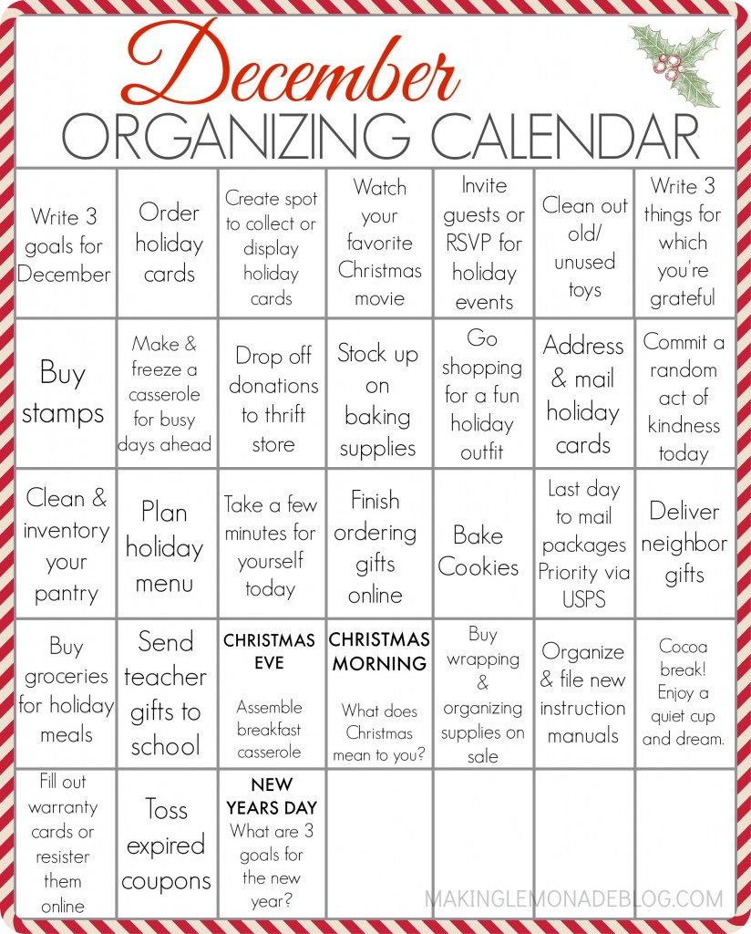 clever tips on making this the most organized Christmas season ever!