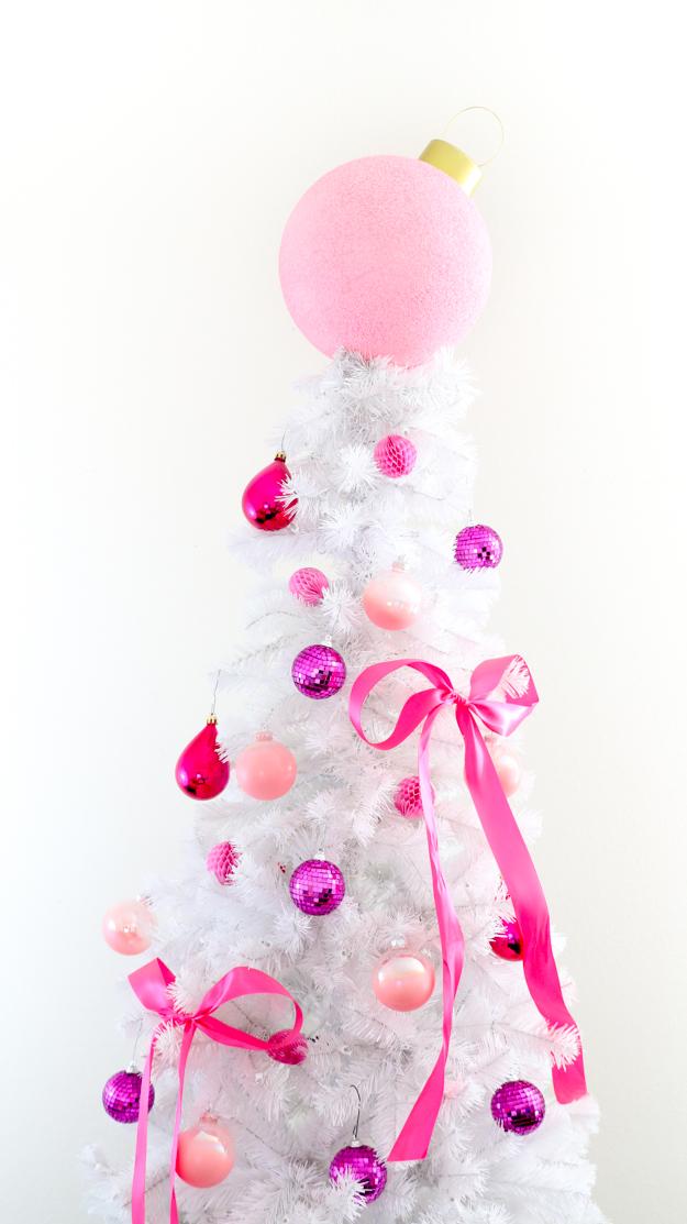giant ornament tree topper
