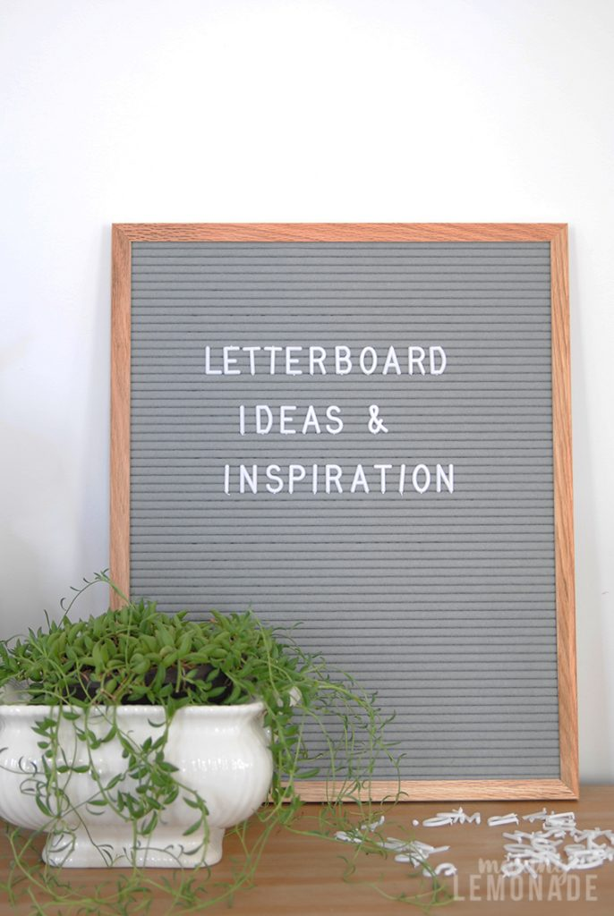 20 creative letterboard ideas and inspirations