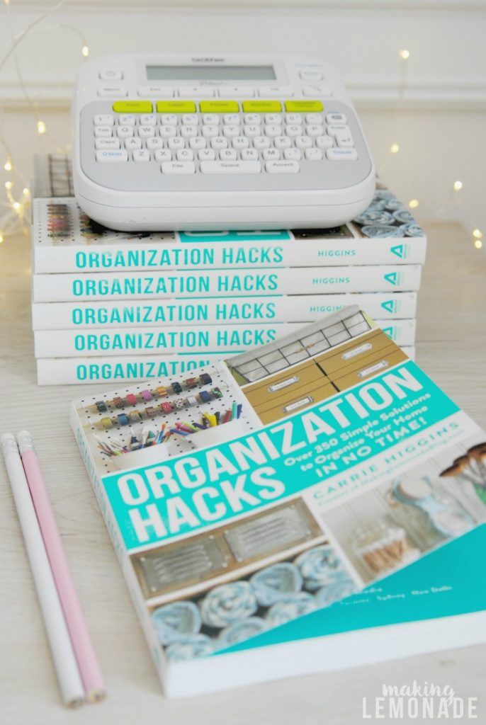 Organization Hacks has over 550 hacks and ideas to get organized in no time!