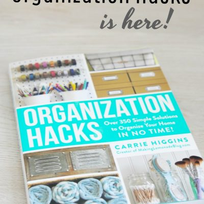 Organization Hacks is Here! (+ $100 Amazon Giveaway)