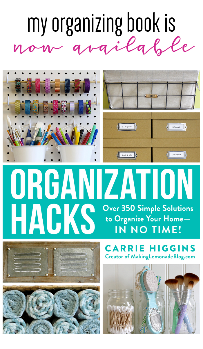 You can now buy my organization book