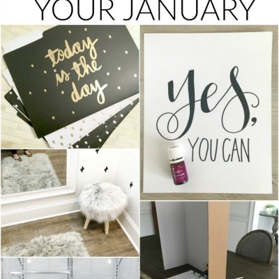 8 Ways to Jumpstart Your January-- great tips for getting organized for the new year!