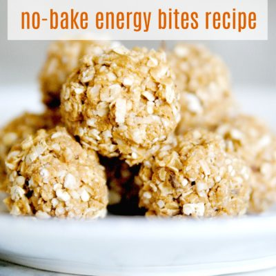 Amazeballs (Yummy No-Bake Energy Bites Recipe!)
