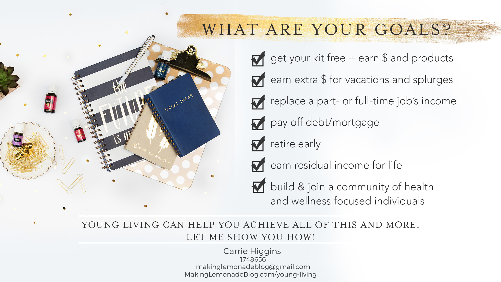 How To Make Money Sharing Young Living Essential Oils