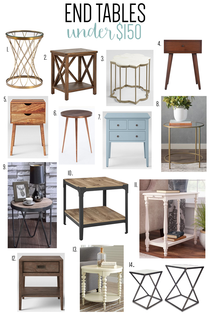 Industrial Style End Tables The Best Style In 2018