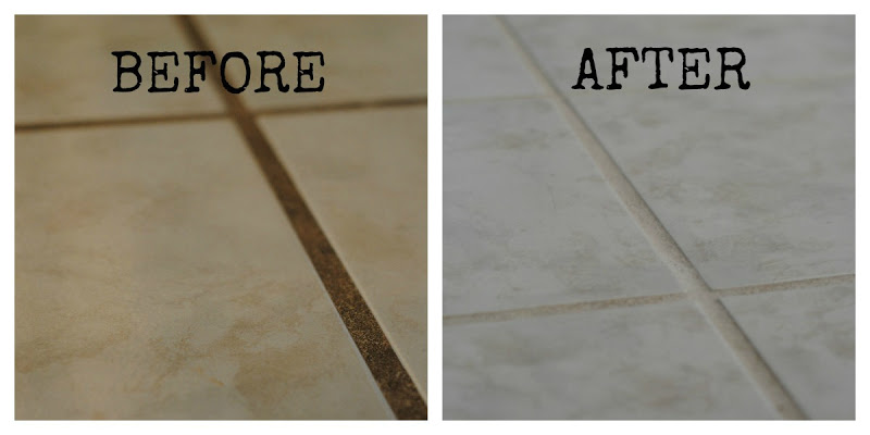 This sure-fire way to clean grout naturally WORKS!