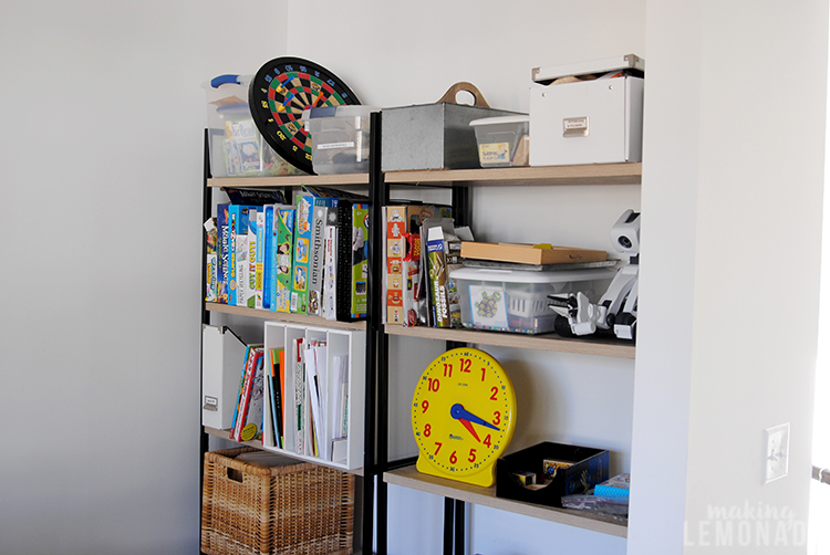 playroom makeover- THE BEFORE