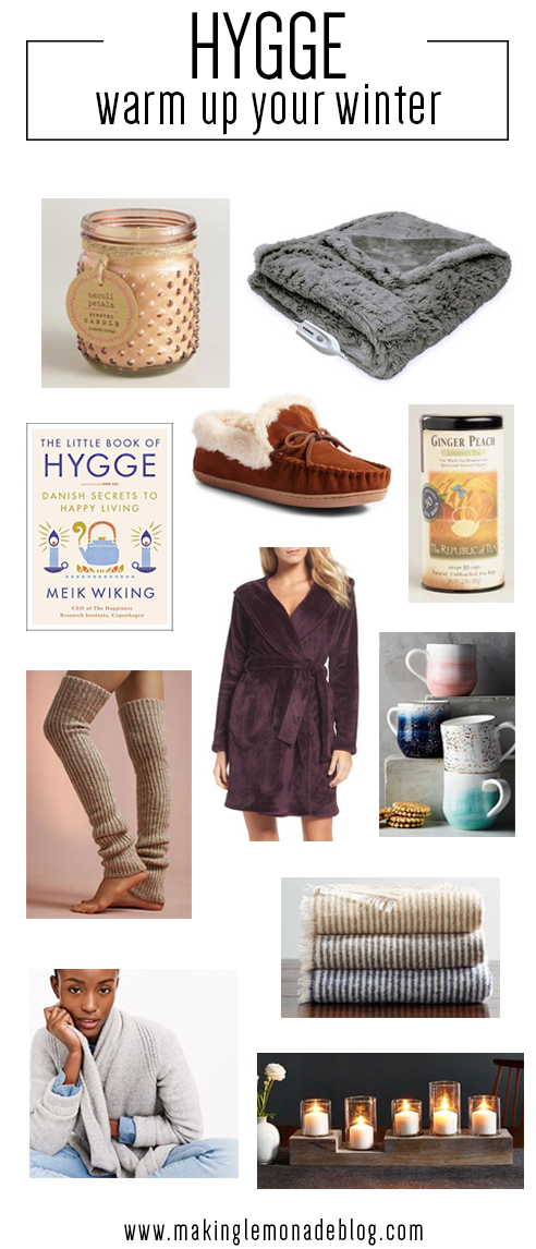 warm up your winter with these cozy hygge products