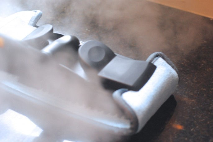 Steam your cloudy granite