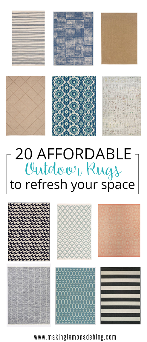 20 Affordable Outdoor Rugs So Pretty You Ll Want Them Indoors Too