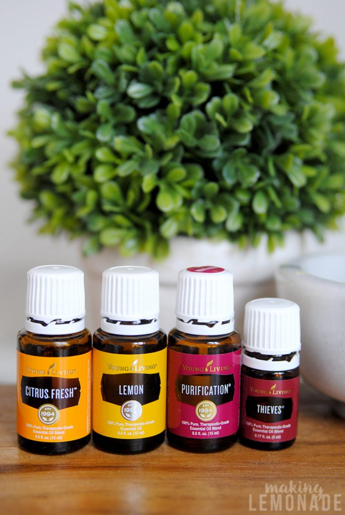 These DIY toilet cleaning pods with essential oils are the EASIEST way to clean toilets; the fizzies do all the work for you! I LOVE easy cleaning hacks!