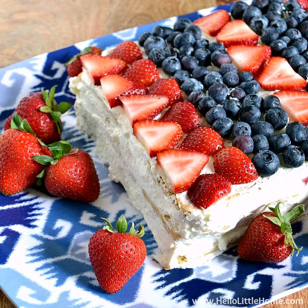 Patriotic Icebox Cake from Hello, Little Home