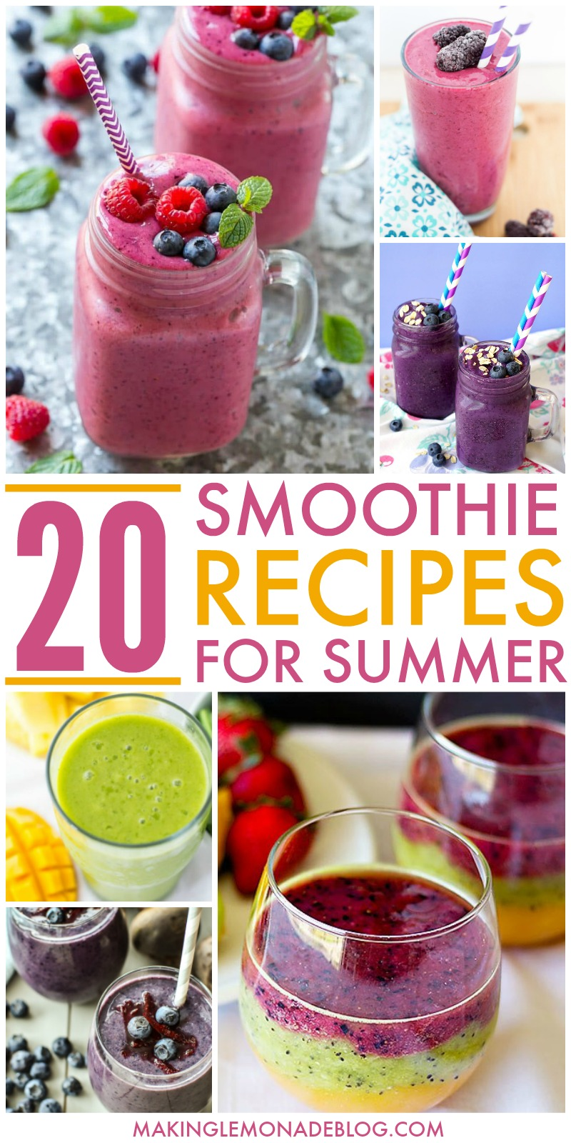 Best Smoothie Recipes for Summer