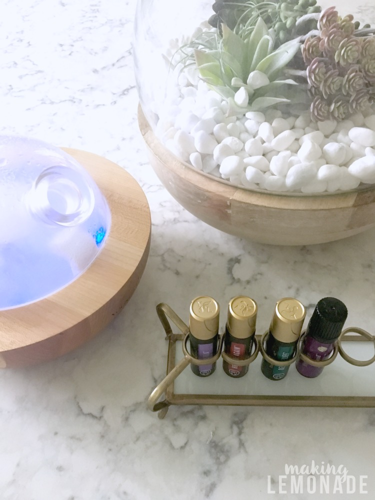 how to organize essential oils so you always have what you need on hand for natural health, wellness, and beauty!