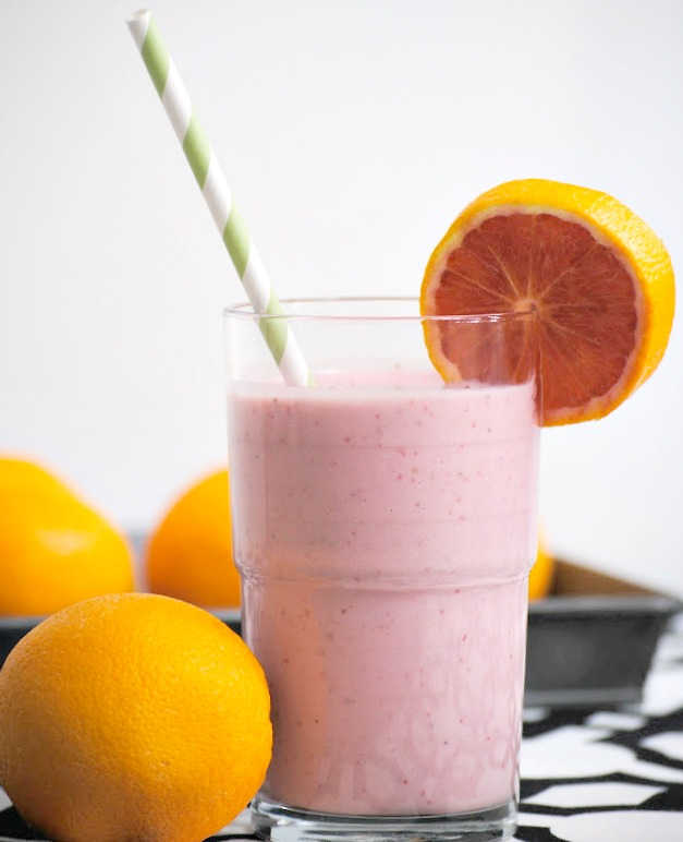 Orange Pomegranate Smoothie