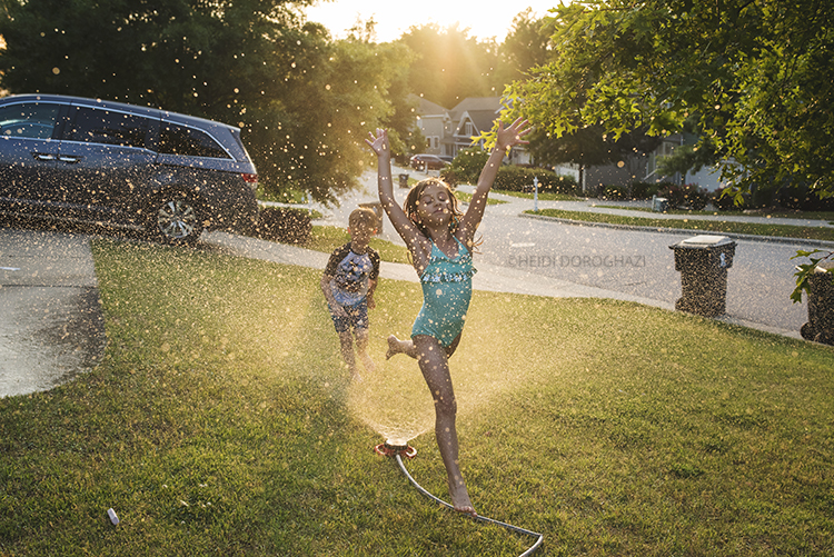 Learn how to take photographs of your kids this summer and every day
