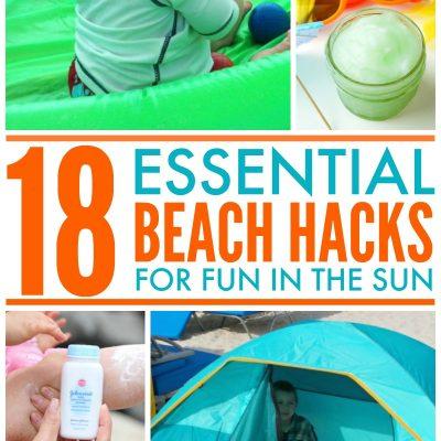 18 Helpful Beach Hacks for Fun in the Sun